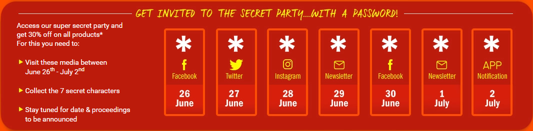 Jumia Secret Party