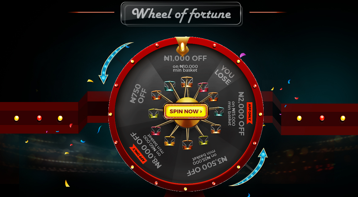 Jumia Wheel of Fortune